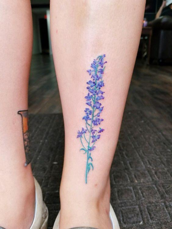 larkspur tattoo