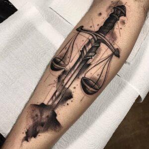 balance tattoo