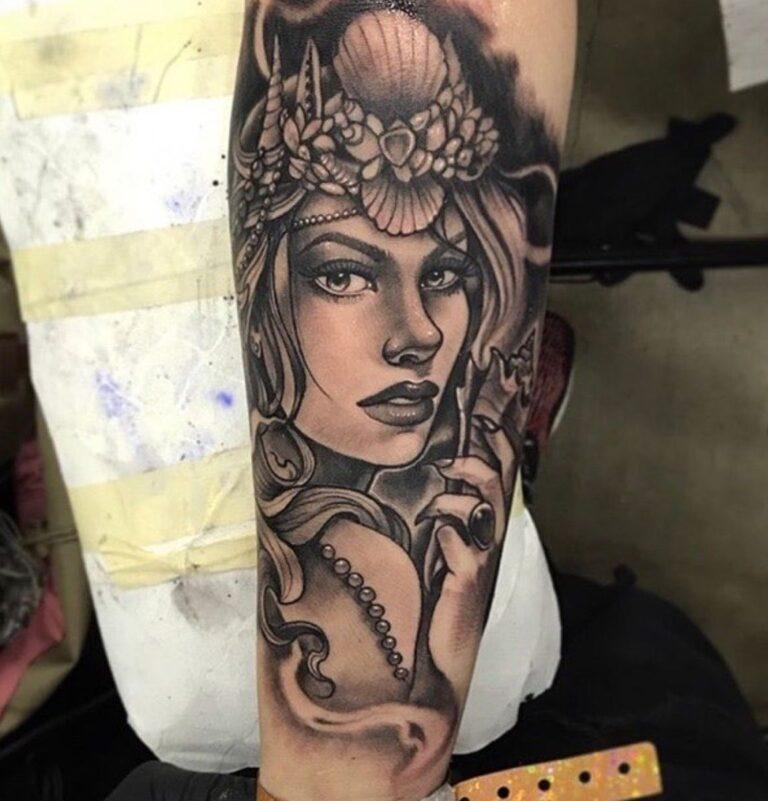 aphrodite tattoo