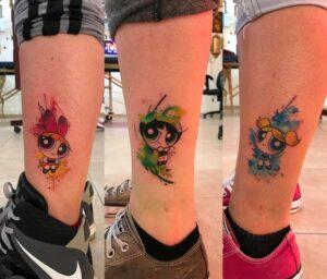 Powerpuff Girls Tattoo