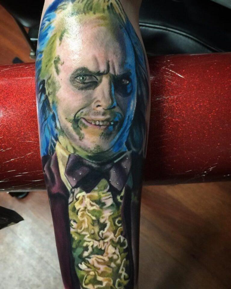beetlejuice tattoo