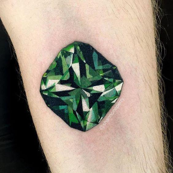 emerald tattoo