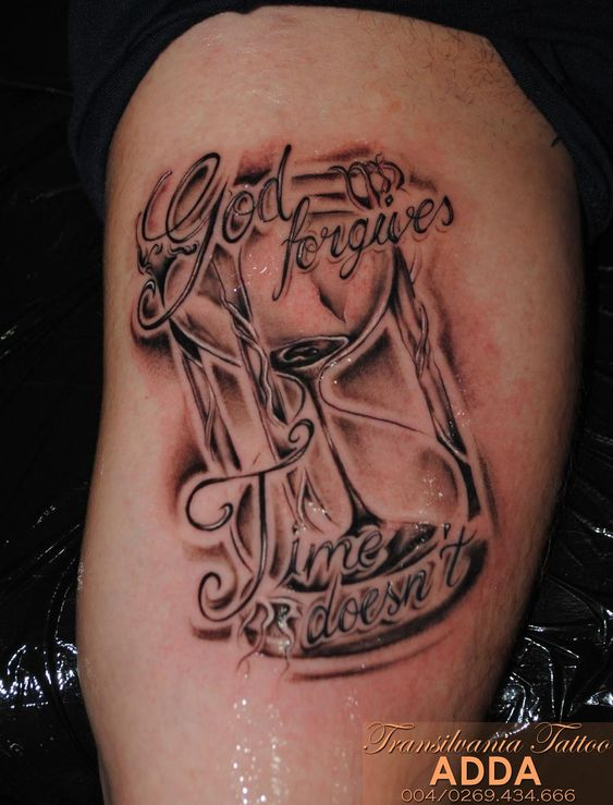 time is money tattoo