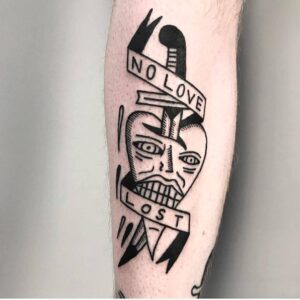 no love tattoo